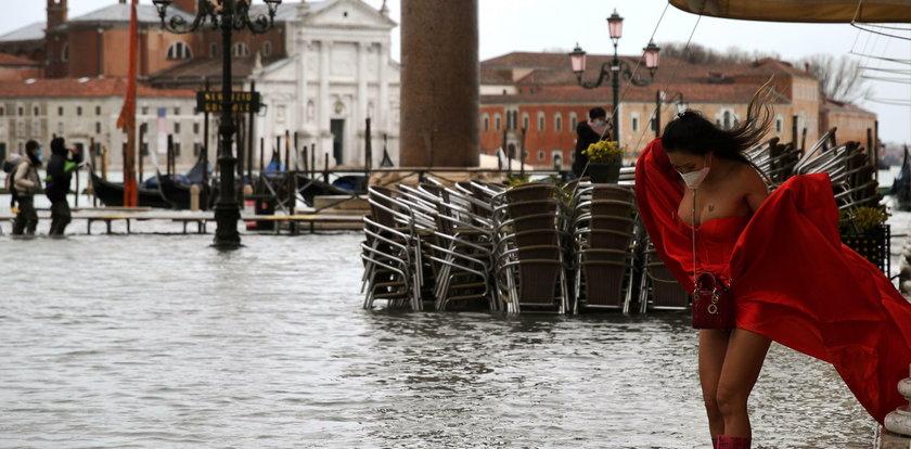 """Powódź w Wenecji. """"Sytuacja jest naprawdę zła"""""""