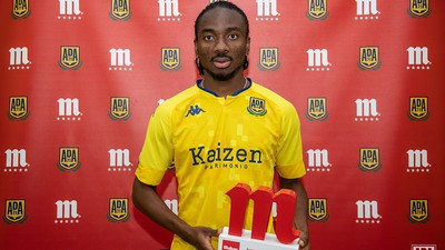 Nigerian midfielder Kelechi Nwakali named his club's Player of the Month in Spanish second division