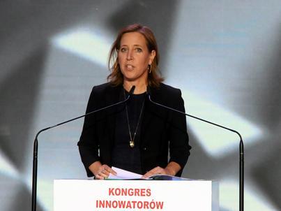 Susan Wojcicki wlała nadzieję w serca rządzących. - Kolejny Google może narodzić się wszędzie - mówiła
