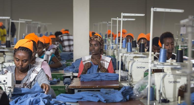 Ethiopia's garment workers are the world's worst paid in despite making clothes for top fashion brands (wsj)