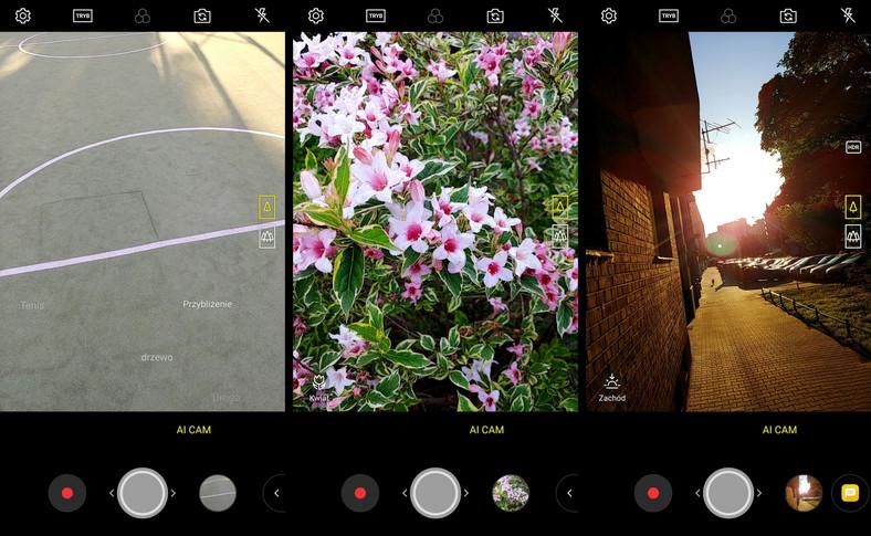 LG V30. Ustawienia kamery