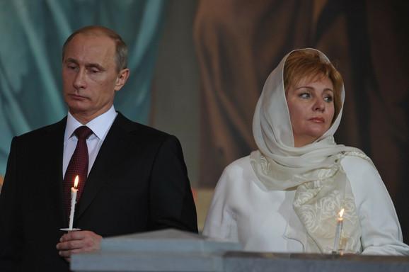 Vladimir Putin i njegova bivša supruga Ljudmila