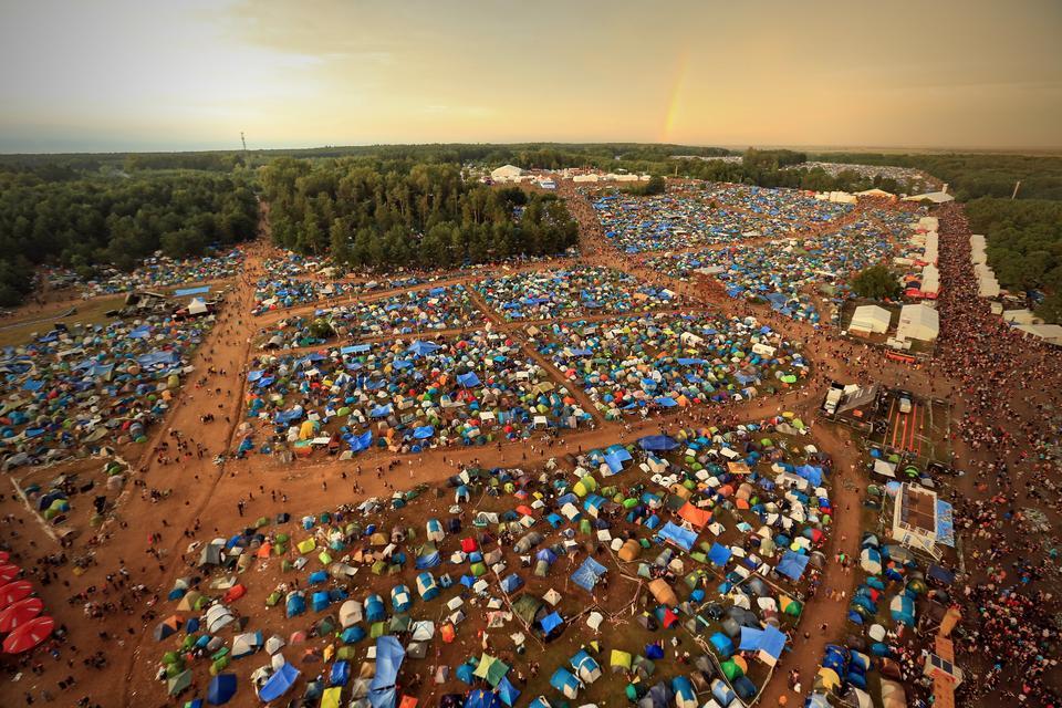 Przystanek Woodstock 2017 (fot. Igor Kohutnicki/WOŚP)