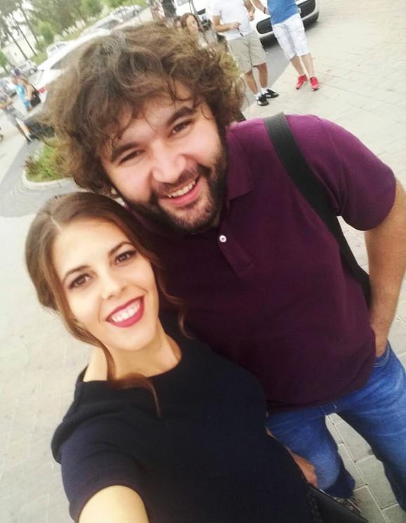 Jovan Bogićević sa suprugom Ivanom