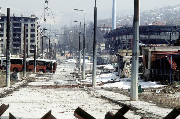Granatiranje Sarajeva