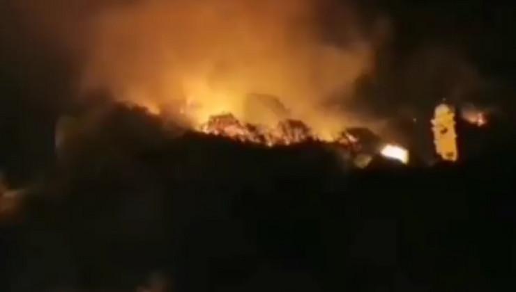Požar, Kotor