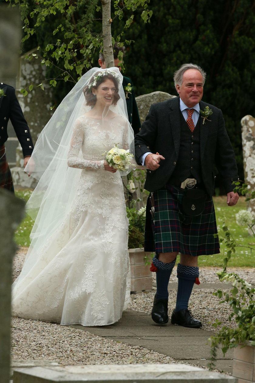 Kit Harington i Rose Leslie wzięli ślub
