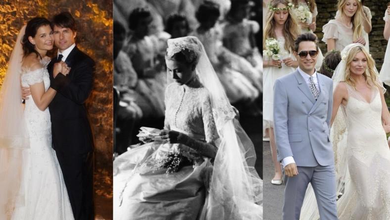 Najsłynniejsze suknie ślubne wszech czasów.