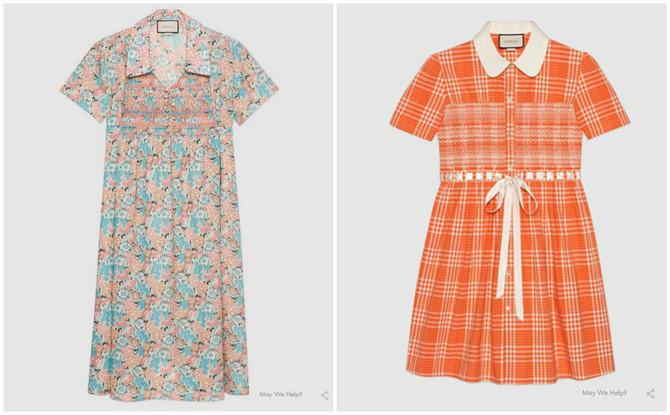 Haljine koje su podigle prašinu u modnom svetu