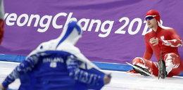 Dramat Polaka na olimpiadzie. Zobacz nagranie
