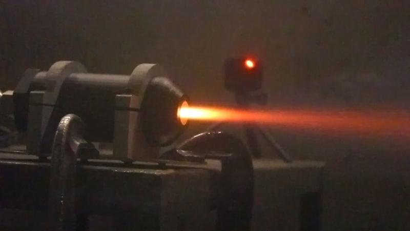 Rakietowy silnik z drukarki 3D
