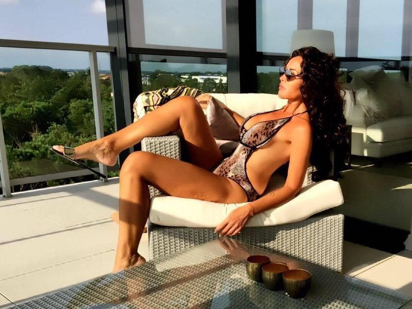 Ewa Minge w bikini