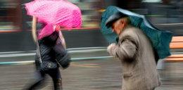 Pogoda przyniesie deszcz i silny wiatr!