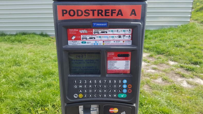 Lubelskie parkomaty mają możliwość wpisania numeru rejestracyjnego