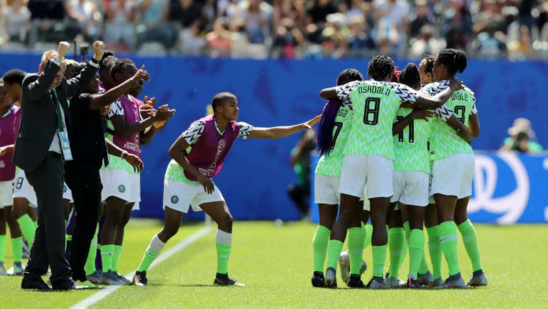 Super Falcons of Nigeria have gotten their  first win of the 2019 FIFA Women's World Cup (Getty Images)