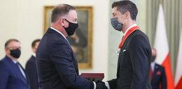 Prezydent odznaczył Lewandowskiego. Skrytykowała to jedna z posłanek. Rozpętała się burza w sieci