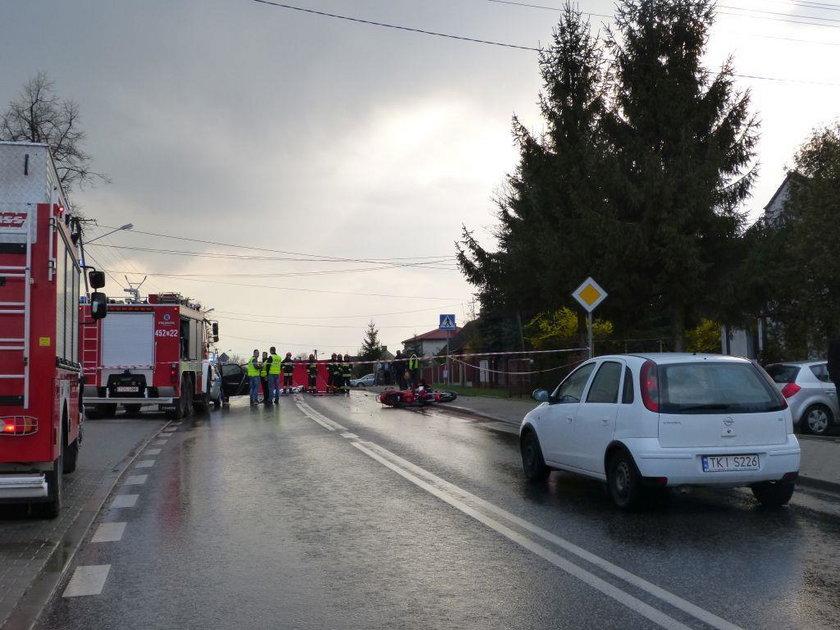 Tragiczna śmierć policjanta. Zginął w wypadku