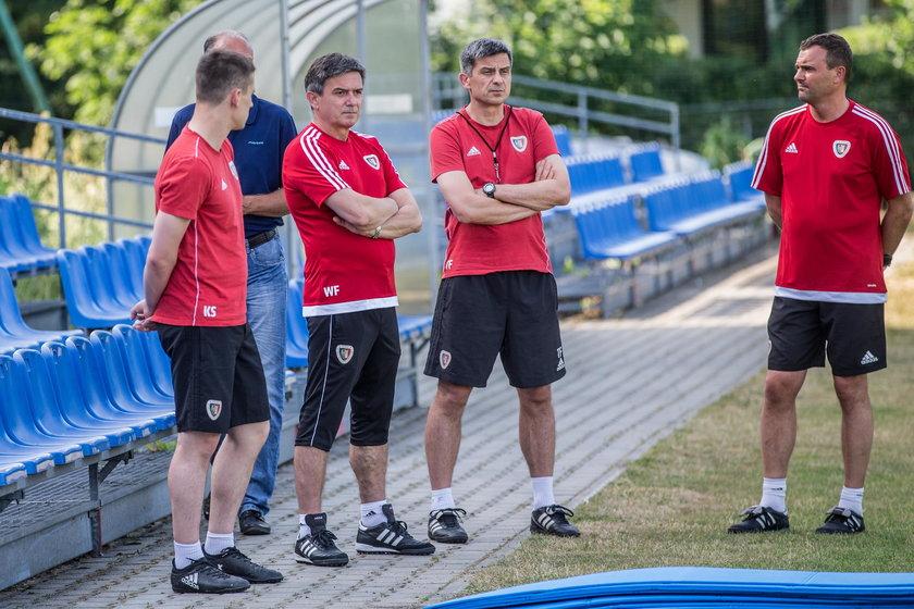 Pilka nozna. Ekstraklasa. Piast Gliwice. Trening. 12.06.2019