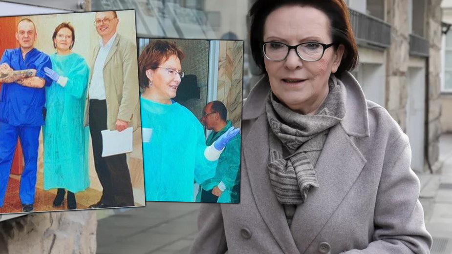 Rodziny smoleńskie komentują zdjęcia Ewy Kopacz