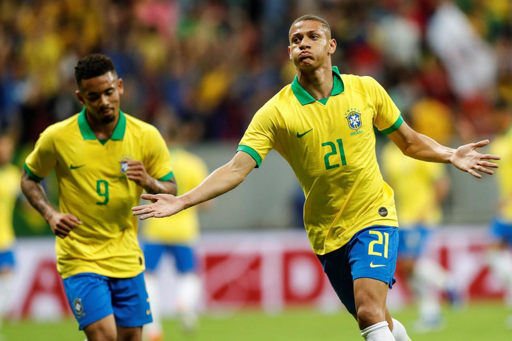 Fudbalska reprezentacija Brazila, Fudbaleri Brazila
