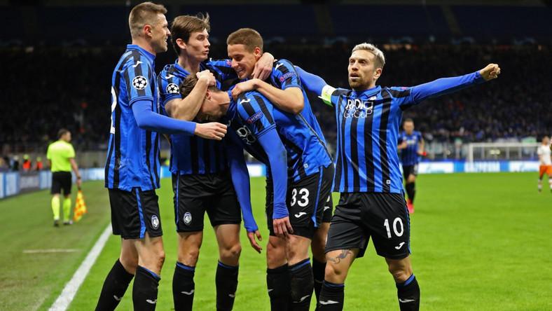 Piłkarze Atalanty Bergamo mieli powody do radości
