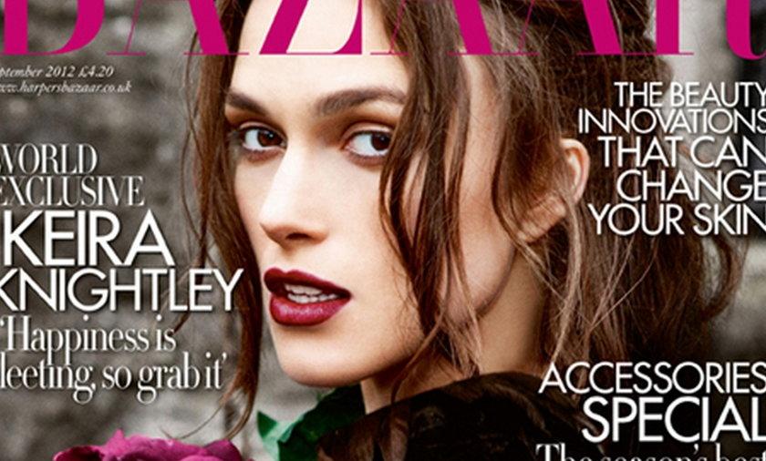 Keira Knightley Harper's Bazaar 2012