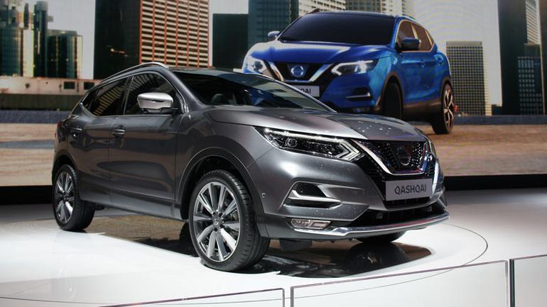 Nissan podczas Geneva Motor Show 2017