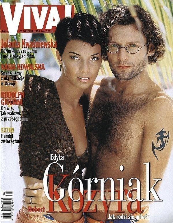 Edyta Górniak i Robert Kozyra
