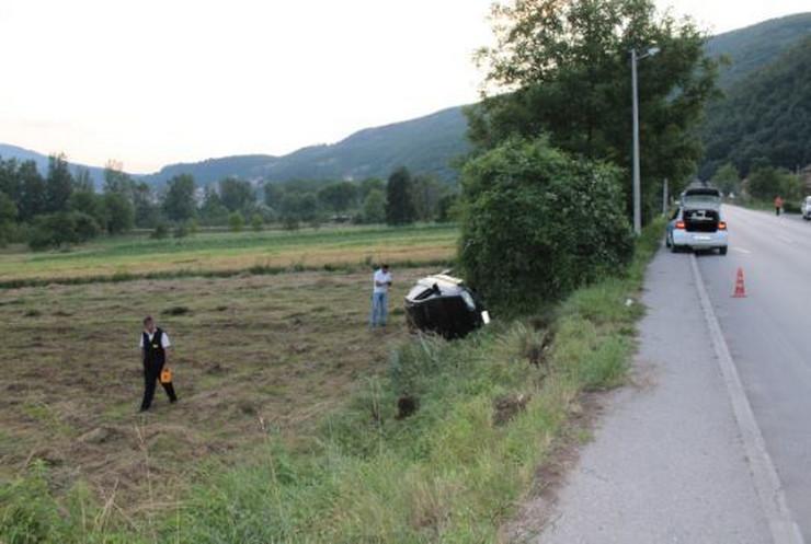 Novo Gorazde saobracajna nesreca