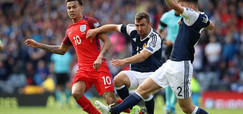 To jest hit! Anglia kontra Szkocja. Wielcy wrogowie zagrają na Wembley