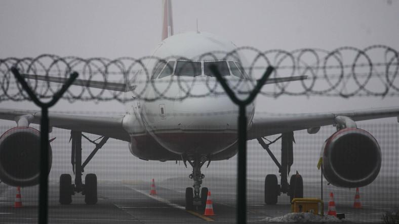 Problemy z mgłą na krakowskim lotnisku