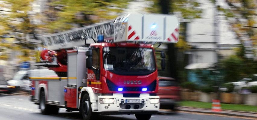 Tragiczny pożar w Krakowie. By się ratować, 33-latka wyskoczyła przez okno. Nie przeżyła