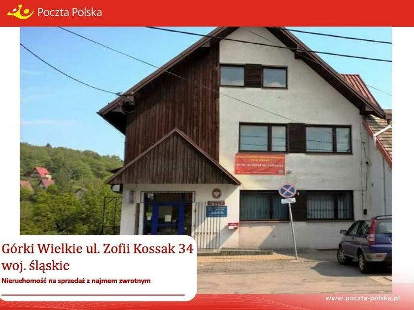 Budynek Poczty Polskiej w Górkach Wielkich