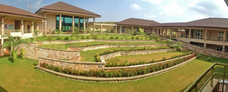 The Cornfield & Archer Courtyard at Ashesi