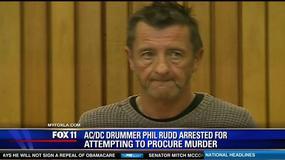 Perkusista AC/DC oskarżony o zlecenie dwóch morderstw