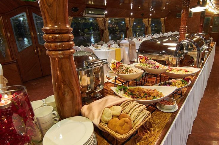 Gourmet meals on a cruise [Pinterest]