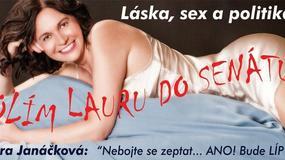 Czeska seksuolożka flirtuje z wyborcami w nocnej koszuli