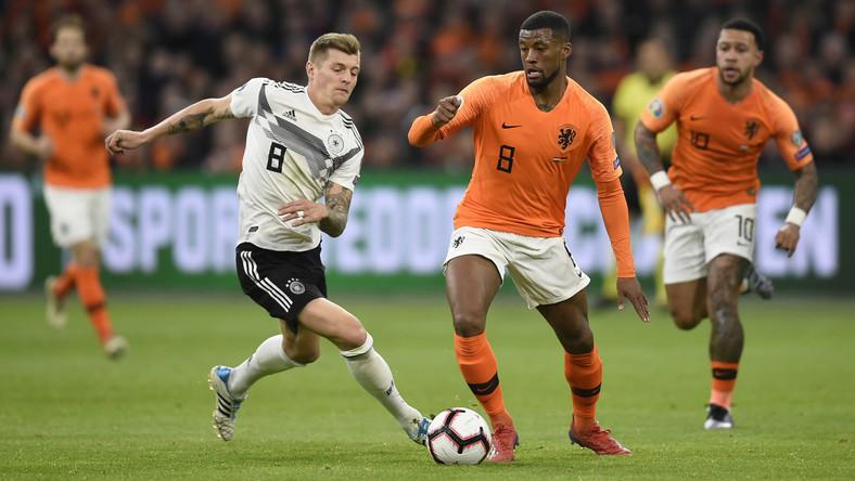 bfc799b86 Holandia - Niemcy, relacja i wynik meczu   Eliminacje ME - Piłka nożna