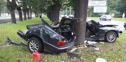 BMW rozpadło się na pół