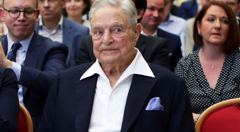 George Soros criticized the EU's handling of the coronavirus pandemic and gave Milan and Budapest $1 million each to combat the crisis