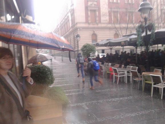 Kiša u subotu