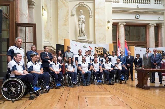 Paraolimpijski tim Srbije