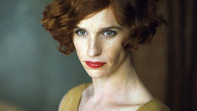 "Eddie Redmayne jako ""The Danish Girl"""