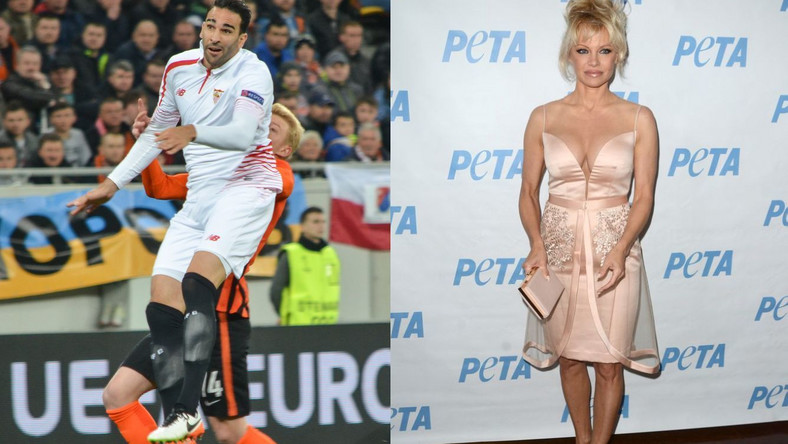Adil Ramy i Pamela Anderson