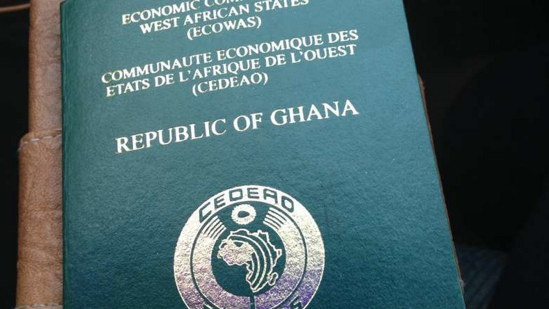 The Ghanaian passport