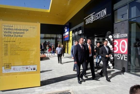 Gradonačelnik obišao novi tržni centar