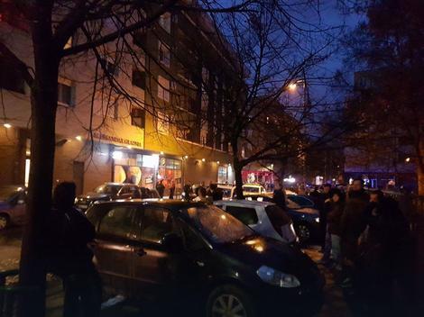 Evakuisani gradjani zbog požara u garaži u Ulici Episkopa Visariona
