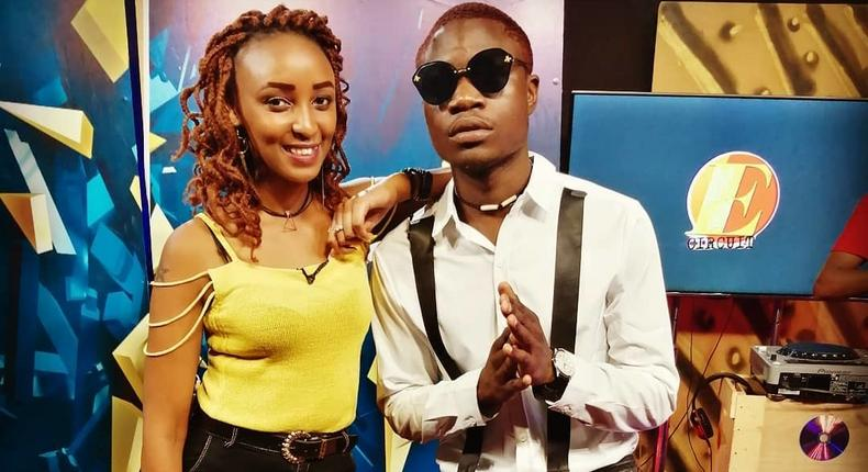 Singer Bruce Mfalme at a past Interview
