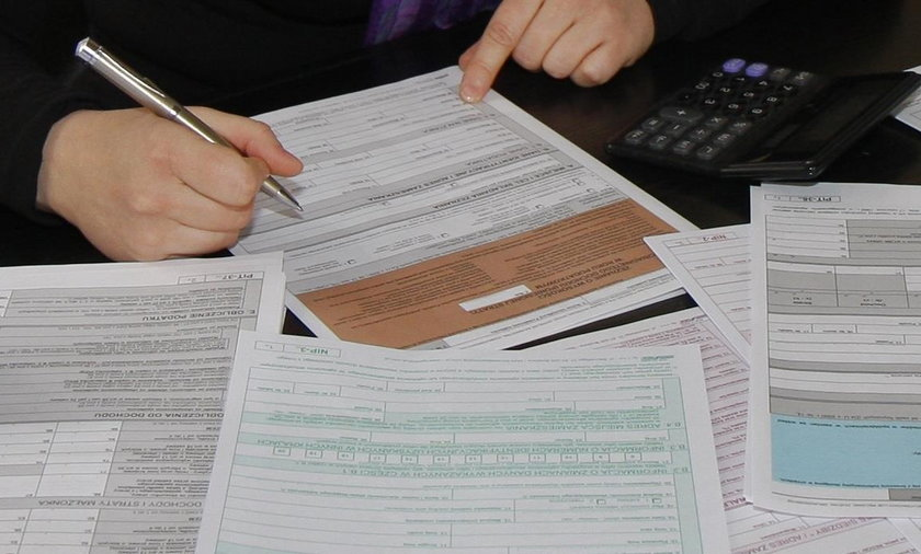 Błędy w zeznaniu podatkowym