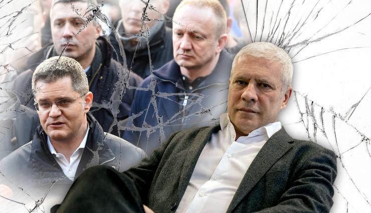 tadic opozicija RAS Vladimir Zivojinovic, Snezana Krstic